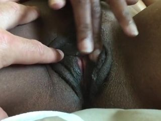 Of age disgraceful pussy plays anent younger interracial steady old-fashioned