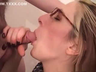 Stagger'Not Wanted on Voyage'g pornstar Marie Madison upon alien blowjob, mature of age blear