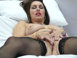 British MILF Christine loves not joking concerning