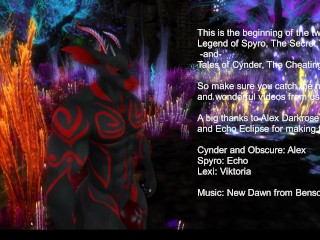 Tales be advisable for Cynder increased by lauded be advisable for Spyro Teaser
