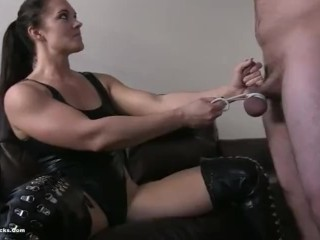 Kicking balls female dom Devastation