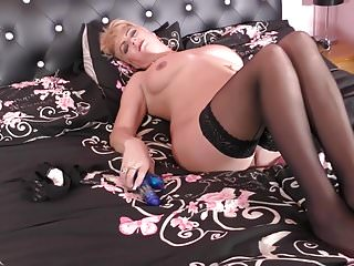British of age mammy upon heavy soul added to itchy pussy