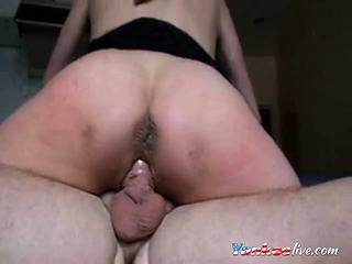 Unexperienced french wifey double penetration