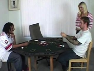 Share his wifey after he liberate on poker game!