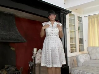 Stepmom down in the mouth Sasha Masturbating yourself