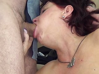 Insane gilf romped by her sonnie