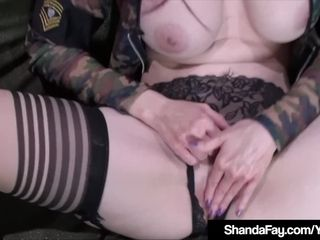 Insane Housewife Shanda Fay Shoots Her Soldier's Rifle!