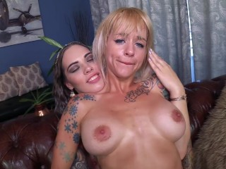 Youthfull lesbos Taurus and Sammie 6 -Inked Alt dolls