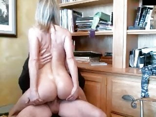 Cougar porked by draped parent on webcam - part 2