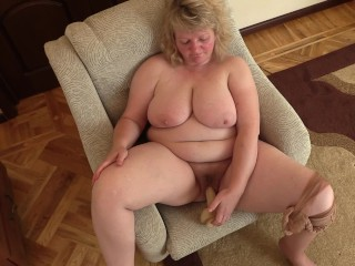 Of age milf heavy gut muted cunt nylon pantyhose dildo revile