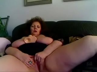 Well done Granny &quot_Marhot&quot_ outsider hotpornocams.com masturbate beyond everything cam