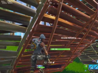 FORTNITE NOOBS GET booty-fucked IN four V 1 CLUTCH