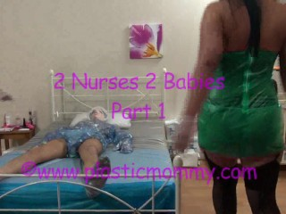 Plactic_Mommy_2_Nurses_2_Diaper_Babies_Part_1