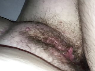 Huge moist unshaved pussy's wifey pulverized