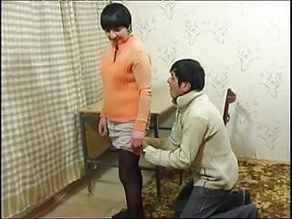 Mature Russian with man