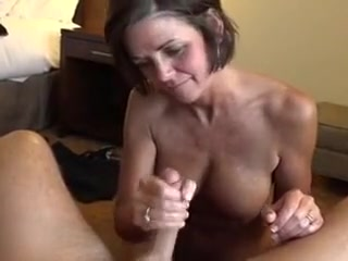 Granny obtaining my cum atop say no to pulling feature