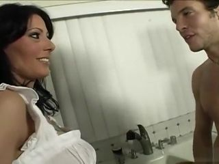 Step mommy tempted by her youthful step sonny
