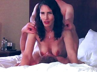 Great cougar wifey dual Vaginal threeway
