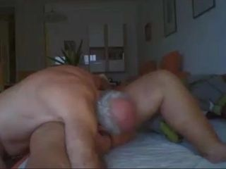 Grandpa at a loss for words grandma pussy heavens cam