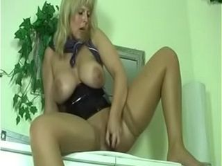 Cougar solo onanism