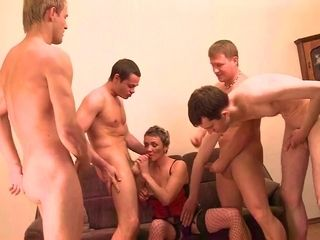 Group sex with elderly russian breezy
