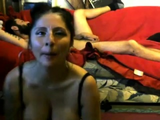 Indian fledgling wifey with enormous breasts on cam