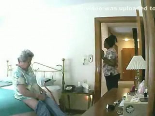 Laptop Webcam - exposed Granny