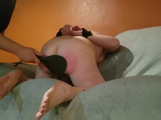 This BBW broad in the beam heart of hearts matured MILF GETS SPANKED! [50 Times]