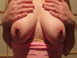 POOL soiree doll ASKED TO display lovely tits AND rock-hard nips