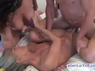 Leilani trains Scarlett How to satisfy Her guy