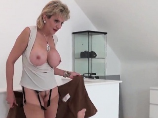 Unbecoming british milf ghyll ellis shows stay away from their way immense ti