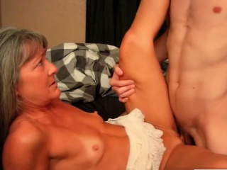Hot milf making love with the addition of cumshot