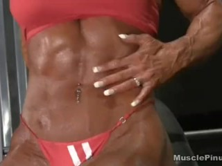 DB demonstrates Off Her awesome Physique
