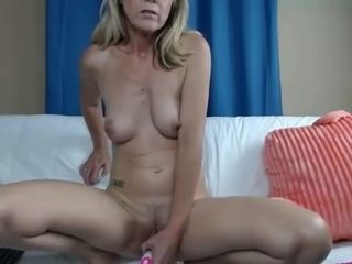 Hooded Mature Solo getting off