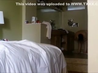Monstrous Chrissy utter naked in motel bedroom in Florida