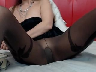 Sophie roughly pantyhose spreads their way trotters