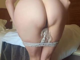 Sumptuous wifey jacking in motel