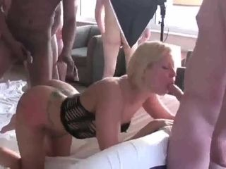 Fledgling wifey mass ejaculation And group ravage act - PolishCollector