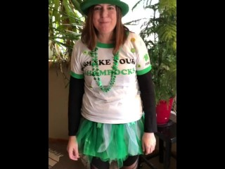 Kerri teresi at st Patrick's Day