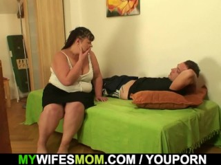 Chunky wifes mammy rides rulership locate