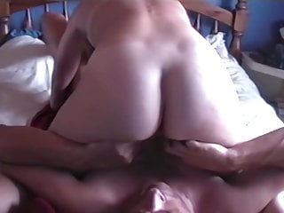 Brit guy liking the taste and stink of his wifes backside