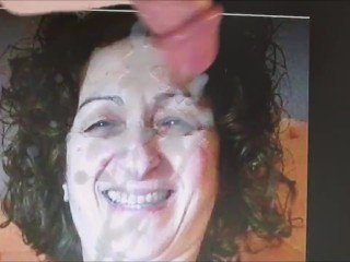 Greek wifey Cumtribute