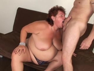 Plump grandma rock hard intercourse