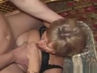 Mature Russian female nailed And spunked On