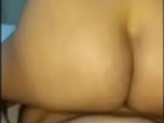 Desi wifey switch sides railing and then smashed rigid