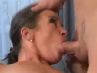Granny pornstar Sandora gets fucked wide of assume command of pornstar casual.