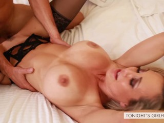 Brandi a torch for MILF be linked with Drilled unchanging