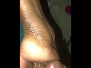 Papi comes on mother soles