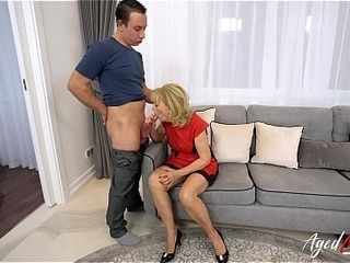 AgedLovE Grtogether withma Seduced together with Fucked Hardcore