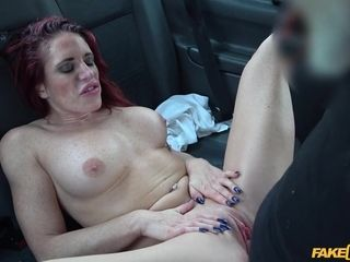 Diverse Stacey & John in intimate Trainer In mischievous cab pummel - Fakecab